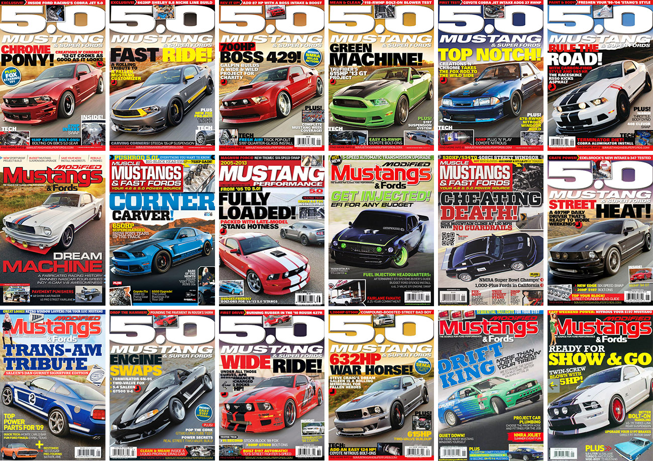 mustang-magazines