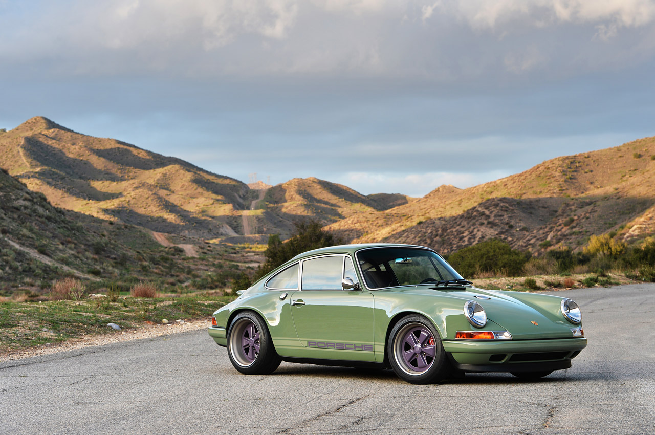 Porsche 911 Reimagined By Singer Drew Phillips Photography