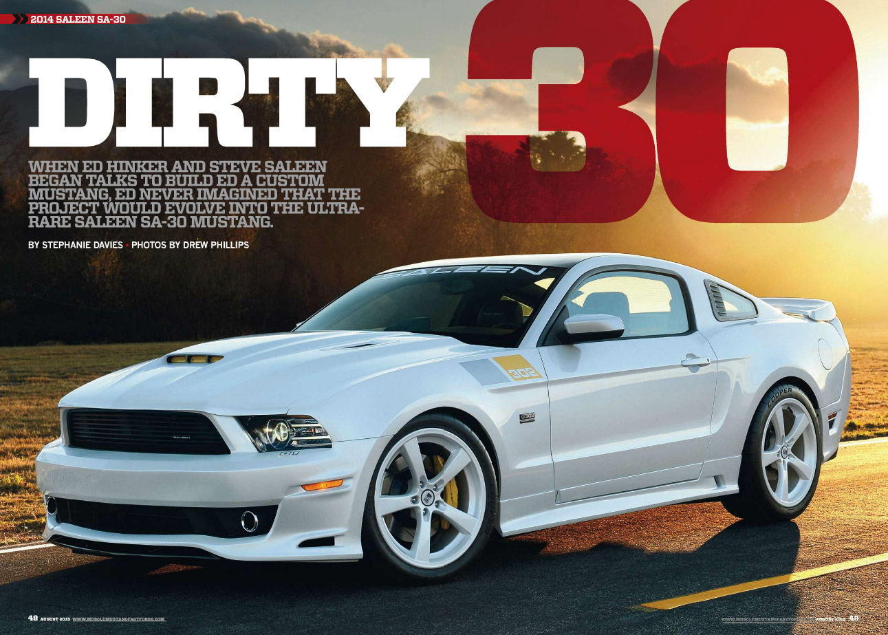 Mustang and fast fords