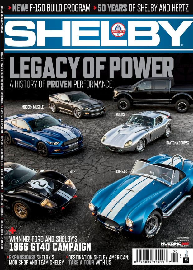 Cover feature for 2016 Shelby Annual Magazine | Drew Phillips ...